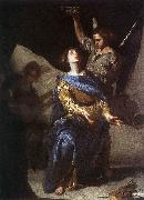 CAVALLINO, Bernardo The Ecstasy of St Cecilia df oil