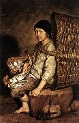 CERUTI, Giacomo Boy with a Basket oil