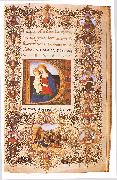 CHERICO, Francesco Antonio del Prayer Book of Lorenzo de  Medici uihu oil painting artist