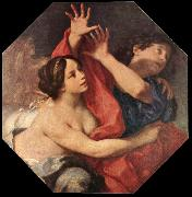 CIGNANI, Carlo Joseph and Potiphar s Wife oil