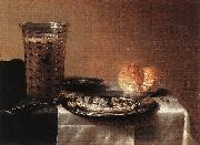 CLAESZ, Pieter Still-life with Herring fg oil