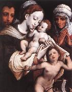 CLEVE, Cornelis van Holy Family dfgh oil painting picture wholesale