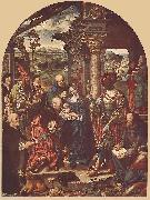 CLEVE, Joos van Adoration of the Magi sdf oil painting picture wholesale