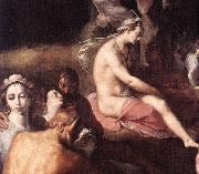 CORNELIS VAN HAARLEM The Wedding of Peleus and Thetis (detail) fdg oil painting artist