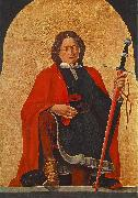 COSSA, Francesco del St Florian (Griffoni Polyptych) dsf oil painting artist