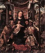 COTER, Colijn de The Adoration of the Magi dfg oil