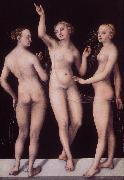CRANACH, Lucas the Elder The Three Graces dg oil painting picture wholesale