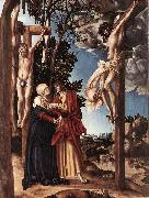 CRANACH, Lucas the Elder Crucifixion inso oil painting picture wholesale