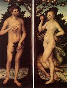 CRANACH, Lucas the Elder Adam and Eve 03 oil painting picture wholesale