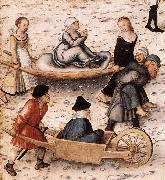 CRANACH, Lucas the Elder The Fountain of Youth (detail) sd oil painting picture wholesale