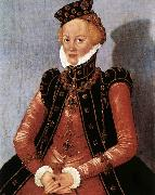 CRANACH, Lucas the Younger Portrait of a Woman sdgsdftg oil