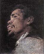 CRAYER, Gaspard de Head Study of a Young Moor dhyj oil