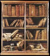 CRESPI, Giuseppe Maria Bookshelves dfg oil painting picture wholesale
