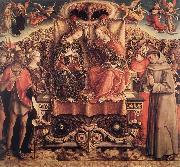 CRIVELLI, Carlo Coronation of the Virgin dgfd oil painting picture wholesale
