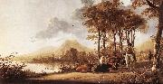 CUYP, Aelbert River Landscape fdgs oil painting picture wholesale