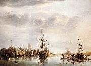 CUYP, Aelbert View of Dordrecht  ds oil