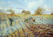 Camille Pissaro Hoarfrost oil painting picture wholesale