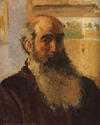 Camille Pissarro Self-Portrait oil