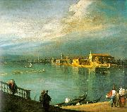 Canaletto San Cristoforo, San Michele Murano Germany oil painting reproduction