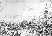 Canaletto Venice: The Canale di San Marco with the Bucintoro at Anchor f oil painting picture wholesale
