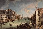 Canaletto Grand Canal, Looking East from the Campo San Vio oil painting picture wholesale