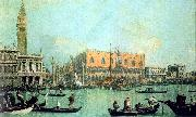 Canaletto Veduta del Palazzo Ducale Germany oil painting reproduction
