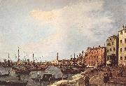 Canaletto Riva degli Schiavoni - west side dfg oil painting picture wholesale