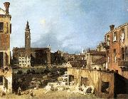 Canaletto The Stonemason s Yard oil painting picture wholesale