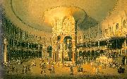 Canaletto Ranelagh, the Interior of the Rotunda Germany oil painting reproduction