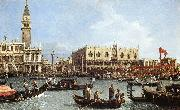 Canaletto Return of the Bucentoro to the Molo on Ascension Day d oil painting picture wholesale