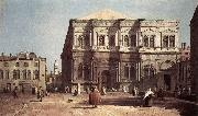 Canaletto Campo San Rocco bvh oil painting picture wholesale