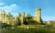 Canaletto Warwick Castle, The East Front Germany oil painting reproduction