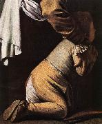 Caravaggio Madonna del Rosario (detail) fdg oil painting picture wholesale