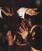 Caravaggio Madonna del Rosario (detail) dsf oil painting picture wholesale