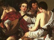 Caravaggio The Concert  The Musicians oil painting picture wholesale