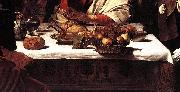 Caravaggio Supper at Emmaus (detail) fdg oil painting picture wholesale