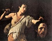 Caravaggio David fghfg oil painting picture wholesale