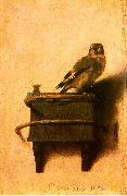 Carel Fabritus The Goldfinch oil painting artist