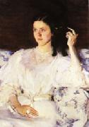 Cecilia Beaux Sita and Sarita(Girl with a Cat) oil