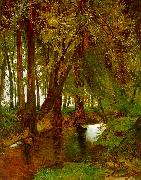 Charles Blechen Woodland with Brook oil painting picture wholesale