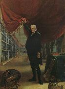 Charles Wilson Peale The Artist in his Museum oil painting picture wholesale