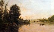 Charles-Francois Daubigny Sand Quarries near Valmondois oil painting picture wholesale