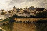 Charles-Francois Daubigny The Village, Auvers-sur-Oise oil painting picture wholesale