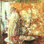 Childe Hassam Tangara oil painting picture wholesale