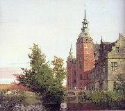 Christen Kobke Frederiksborg Castle seen from the Northwest oil