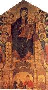 Cimabue The Santa Trinita Madonna oil painting artist