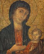 Cimabue The Madonna in Majesty (detail) fgjg oil painting picture wholesale