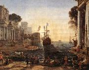 Claude Lorrain Ulysses Returns Chryseis to her Father vgh oil painting picture wholesale