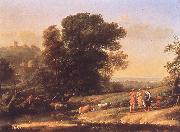 Claude Lorrain Landscape with Cephalus and Procris Reunited by Diana sdf oil painting picture wholesale