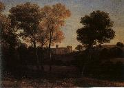 Claude Lorrain View of La Crescenza oil painting picture wholesale